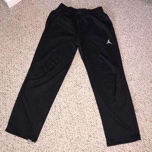 Men's Jordan athletic black pants size Medium